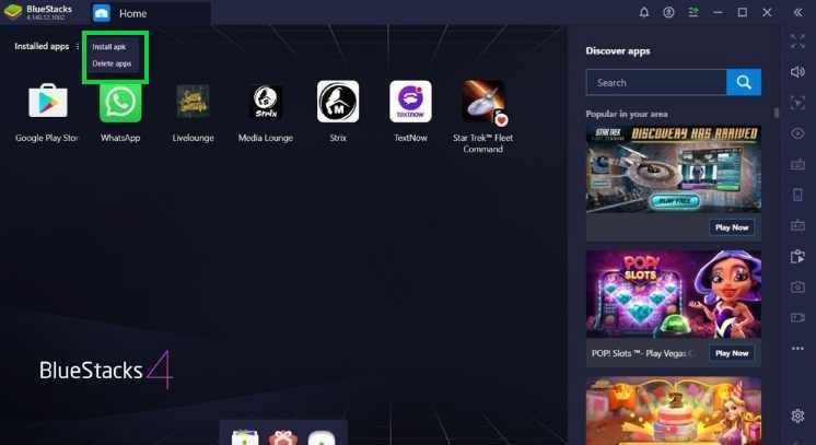 strix apk on android emulator